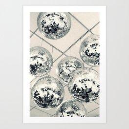Disco Ball Art Print