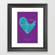 astridfox + kellyontherun project Framed Art Print