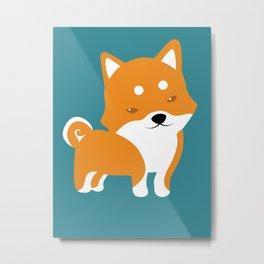 Shibattitude - Shiba Inu webshop - Gifts, merchandise and collectibles Metal Print