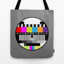 Television Color Test Tote Bag