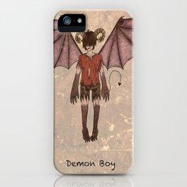 Demon Boy iPhone Case