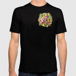 Flowers and Birds 1 T-shirt