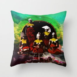 Stronghold Throw Pillow
