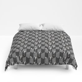 Cubicles Pattern Comforters