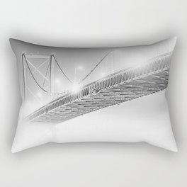 Floating in the Fog Rectangular Pillow