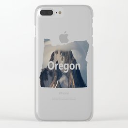 Hood With Cap Clear iPhone Case