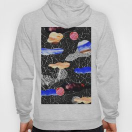 space collage Hoody