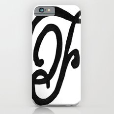Monogrammed Letter F iPhone 6s Slim Case