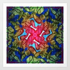 Textured pt2  Art Print