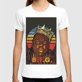 biggie retro art T-shirt