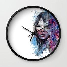 Flabellina by carographic, Carolyn Mielke Wall Clock