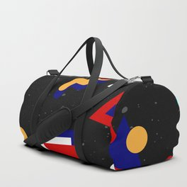 Memphis geometric pattern #2 Duffle Bag