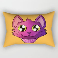 Super Kawaii Neko Muffin Rectangular Pillow