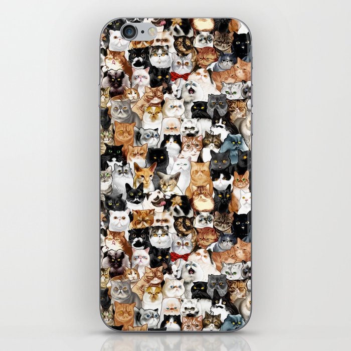 Catmina Project iPhone Skin