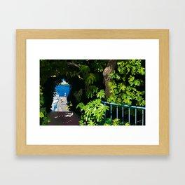 memories of gone summer [Secret Harbor] Framed Art Print