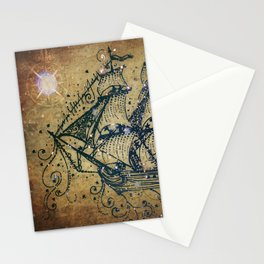 The Great Sky Ship Stationery Cards