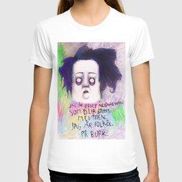 Jag är inget årgångsvin (färg) T-shirt
