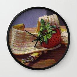 Banana Split Wall Clock
