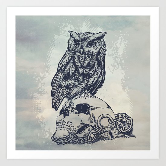 Key of wisdom Art Print
