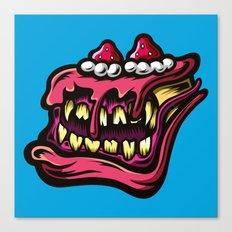 Cake Monster Canvas Print