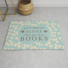 Book Lovers Rug