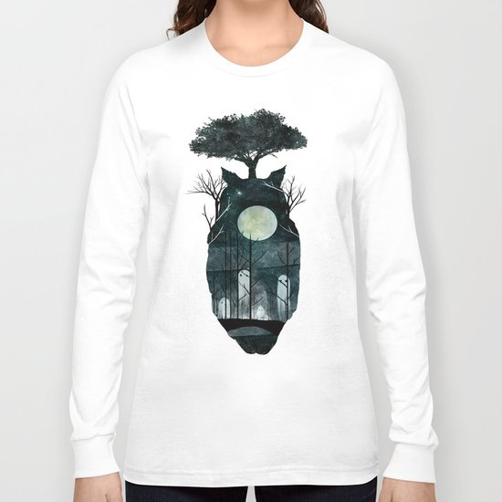March of the Forest Spirits Long Sleeve T-shirt