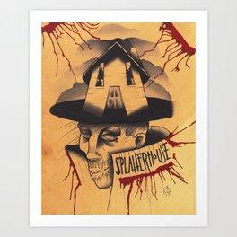 Splatterhouse  Art Print
