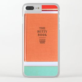 The Betty Book Clear iPhone Case