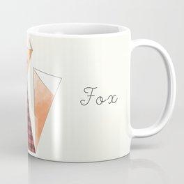 Flannel Fox Coffee Mug