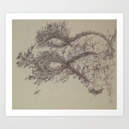 Yael-Segment90 Art Print
