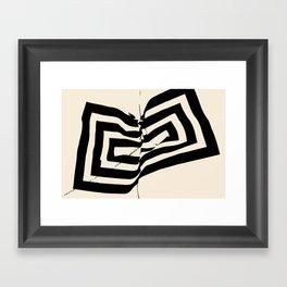 Mountain Heart 2 Framed Art Print