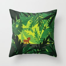 Lion King - Simba Pattern Throw Pillow