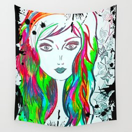 Kiss My Southern Sass Wall Tapestry