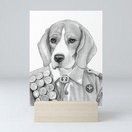 Eagle Beagle Mini Art Print