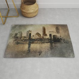 Sunset in the City Rug