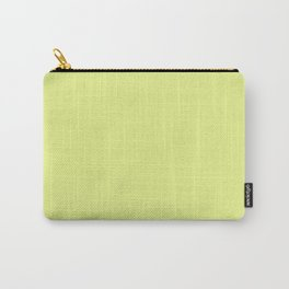 Key Lime - solid color Carry-All Pouch