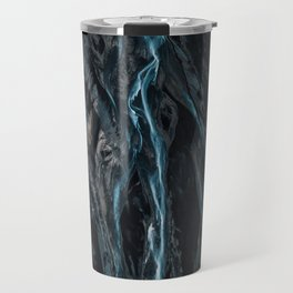 Abstract River in Iceland - Landscape Photography Travel Mug