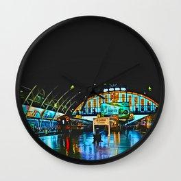 Last Train From Thailand Wall Clock