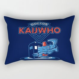 Doctor KaijWho Rectangular Pillow