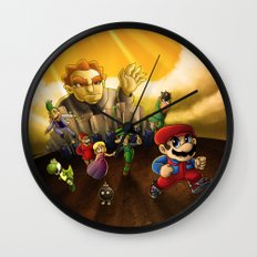 Super Mario Bros. The Movie: The Game Wall Clock