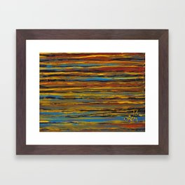 6x8 vivid waters Framed Art Print