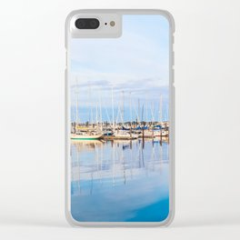 Harbor Sky Clear iPhone Case
