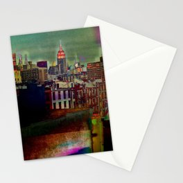 Manipulated City Stationery Cards