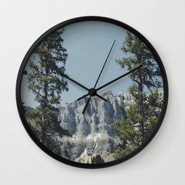 Peeping Mountain  Wall Clock
