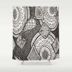 Bobbles Shower Curtain