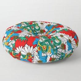 Midsommar Berries - Compact Floor Pillow