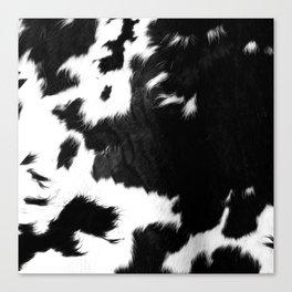 Rustic Cowhide Canvas Print