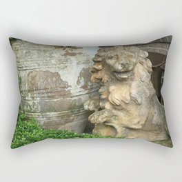 The Lion, the Urn and the Boxwood Rectangular Pillow
