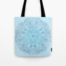 The garden mandala Tote Bag