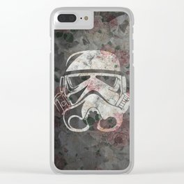 Floraltrooper Clear iPhone Case